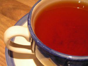 تحضير الشاي الأسود