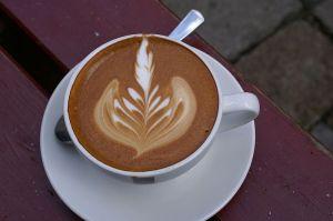 من الطرق دعائية للقهوة..!